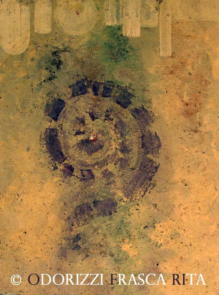 dipinto_a_olio_ofri_serie_citta_capovolte_titolo_spirale_di_tempo_1980