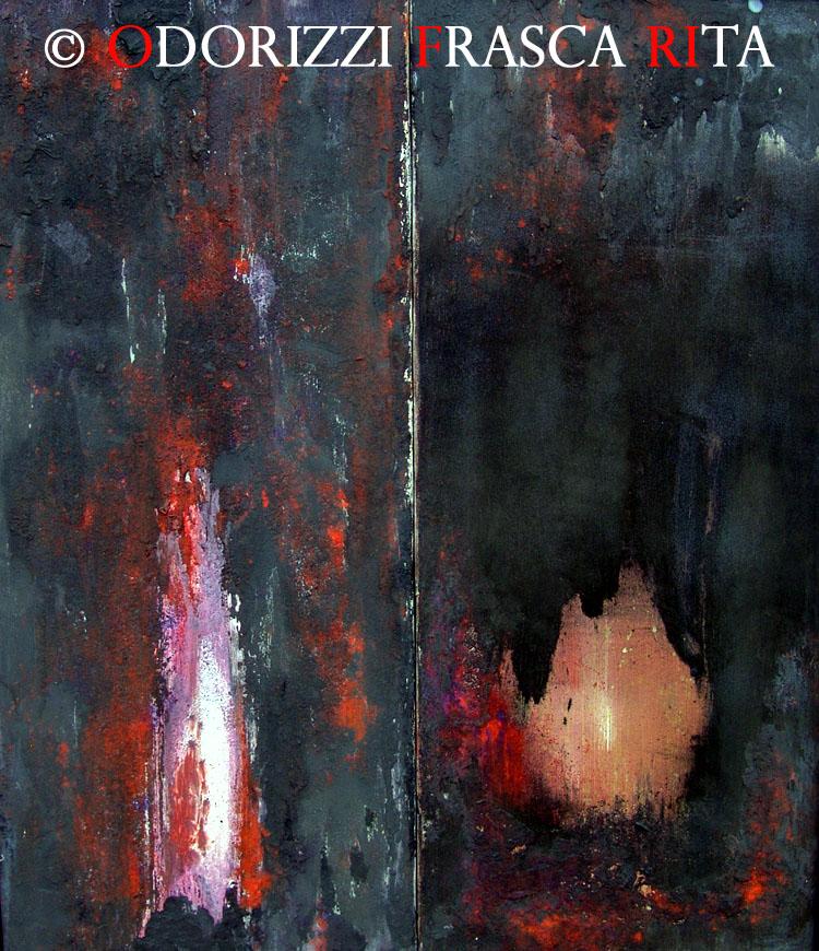 dipinto_a_olio_ofri_sostanza_di_universo_titolo_le_grotte_dell_anima_1990