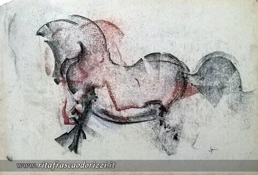 disegno_carboncino_cavallo
