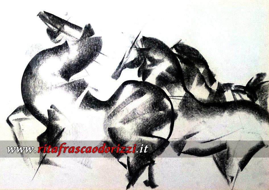 disegno_carboncino_con_cavalli