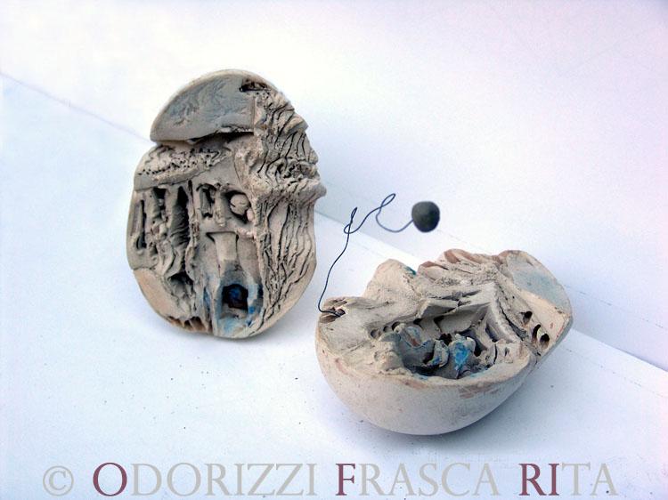 scultura_contemporanea_astratta_serie_uova_1990