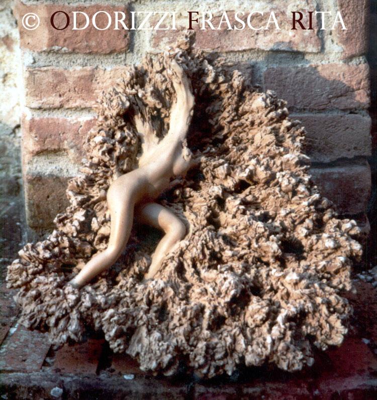 scultura_contemporanea_ofri_serie_radici_quattro_stagioni_autunno_1990