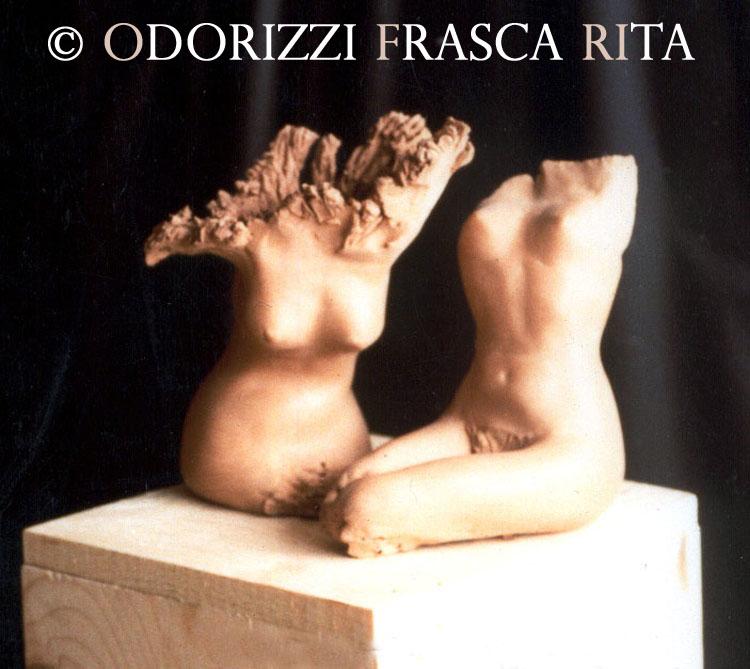 scultura_contemporanea_ofri_serie_radici_titolo_donne_radici_1980