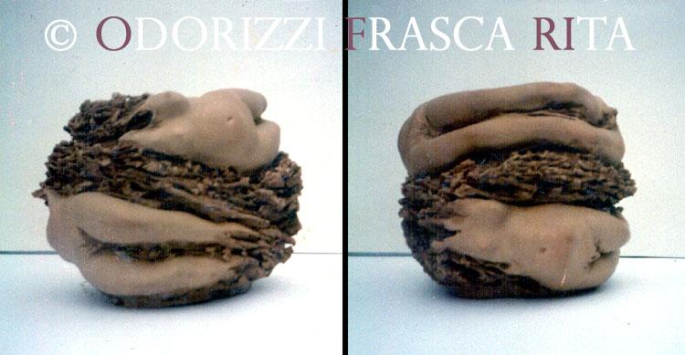 scultura_contemporanea_ofri_serie_radici_titolo_passaggio_di_tempo_1990