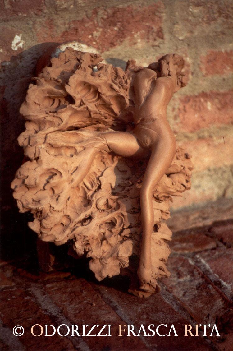 scultura_contemporanea_ofri_serie_radici_titolo_quattro_stagioni_primavera_1990