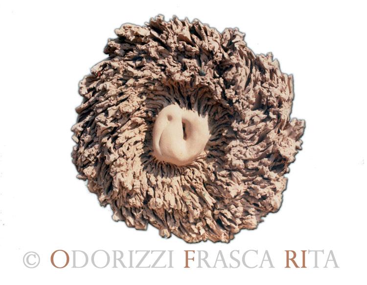 scultura_contemporanea_ofri_serie_radici_titolo_spirale_di_radici_1990