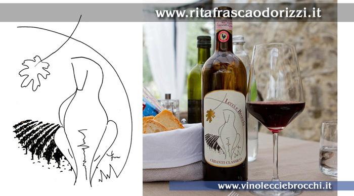 Etichetta Vino Artistica