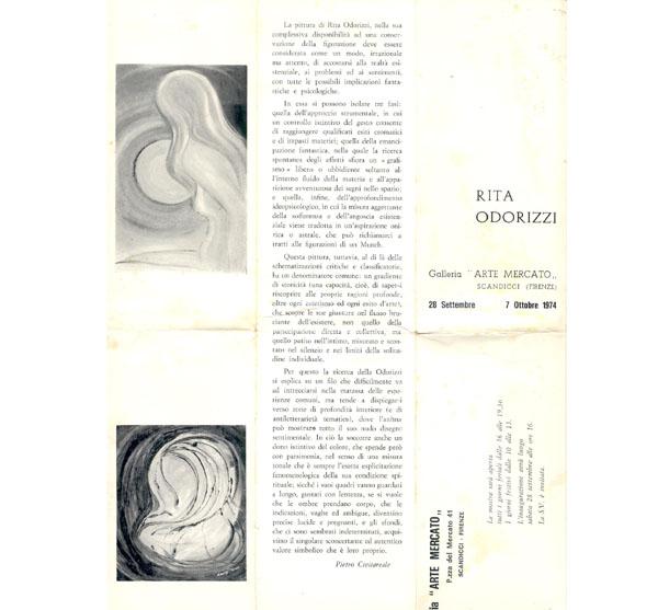 Recensione Pietro Civita Reale per Rita Frasca Odorizzi 1974